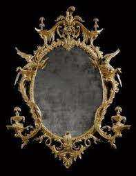 wonderful russian mirror with bronze ornaments circa 1820s from
