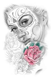 day of the dead tattoo flash 1000 images about day of dead