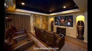 small home theater room design youtube