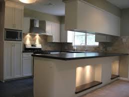 modern kitchen island lighting use white stools and dark stainless steel kitchen island to