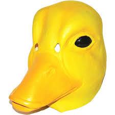 duck halloween costumes amazon com duck mask animal bird halloween costumes clothing