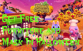 how to get halloween themed furniture and masks for free animal