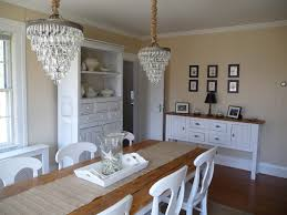 Pottery Barn Dining Room Set by Pottery Barn Clarissa Chandeliers Over The Dining Room Table My