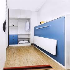 Folding Single Bed Horizontal Melamine Borad Side Bed Wall Folding Single Bed Buy