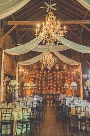 Party Chandelier Decoration by 30 Barn Wedding Ideas That Will Melt Your Heart Rustic Barn