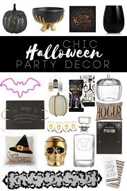 my favorite chic halloween decor chic halloween halloween candy