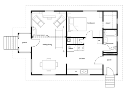 building plans tiny house building plans with two terraces and one bedroom