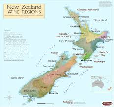 Italy Wine Regions Map by New Zealand Wine Regions