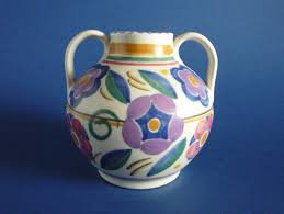 Poole Pottery Vase Patterns Poole Pottery Gz Pattern Vase By Truda Carter C1935