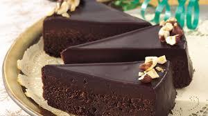 chocolate glazed fudge cake recipe bettycrocker com