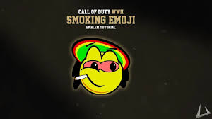 second world war emoji smoking emoji emblem call of duty ww2 emblem tutorials 2 youtube