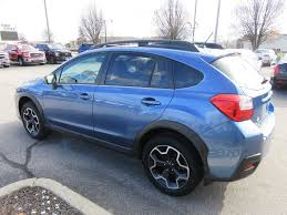 blue subaru crosstrek 2015 used subaru xv crosstrek 2 0 limited awd heated leather