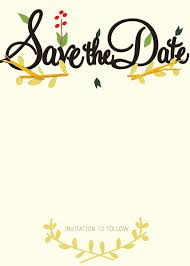 save the date cards free the date party templates