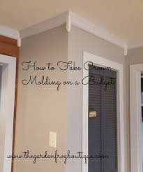 dining room molding ideas how to crown molding on a budget hometalk