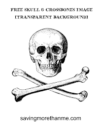 halloween transparent background free skull and crossbones image transparent background u2022