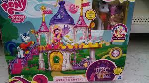 mlp wedding castle my pony wedding castle playset groom ponies