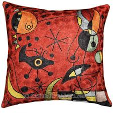 Sofa Pillows Covers by Miro Red Pillow Decorative Cushion Covers Silk Cushions Creatures