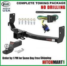 cadillac srx packages fits 2010 2015 cadillac srx class 3 curt trailer hitch tow package