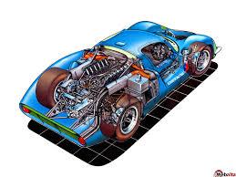 sports cars drawings matra m630 group 6 1967 racing cars