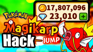 pokémon magikarp jump hack unlimited diamonds and coins cheats