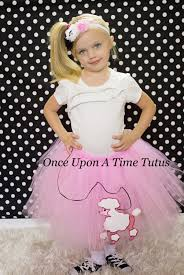 poodle skirt halloween costume ready to ship pink poodle skirt tutu baby newborn 3 6 9 12