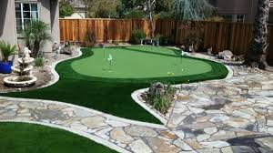 brentwood ca backyard putting green forever greens