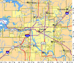 map of tulsa tulsa county oklahoma detailed profile houses estate