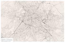 Open Street Maps All Berlin Streets Ehm Visualized Vis4 Net