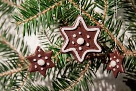 Baking Christmas Tree Decorations by Free Decor Polymer Clay Tutorials