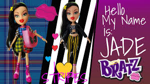 jade bratz 2015 love stripes fashion pack