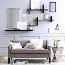 glass corner shelves living room floating shelf kitchen wall ideas