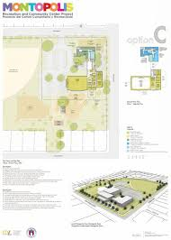Austin Convention Center Floor Plan by Montopolis Recreation And Community Center Project Austintexas