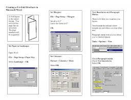 brochure template doc tri fold simple receipt template word