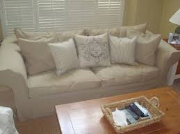 Pottery Barn Slipcovered Sofa by Addison T Cushion Sofa Slip Cover Furniture Stuff Pinterest
