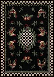 sophisticated kitchen rooster area rugs for the design in find