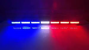 lb1203 7 white and blue led dash light led light