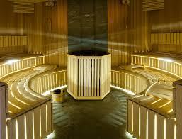 an elegant sauna evening to invite your guests to is the top notch