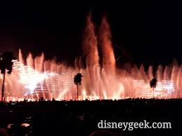 world of color season of light a little breezy tonight world of color season of light the