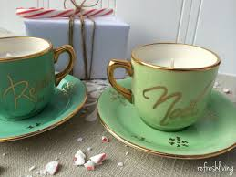 tea cup candles diy teacup candles hometalk