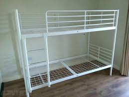 Iron Bunk Bed Ikea Metal Bunk Bed Dynamicpeople Club
