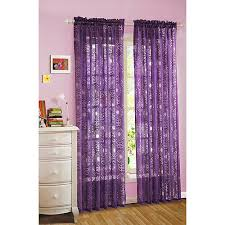 Living Room Curtains Walmart Purple Curtains Walmart 1130
