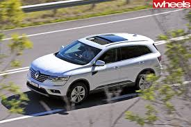 koleos renault 2018 2016 renault koleos review wheels