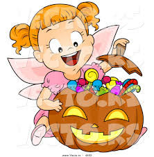 halloween character pumpkin clipart collection