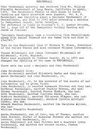 Military Resume Builder Mendenhall Family History Pasquotank County Ncgenweb