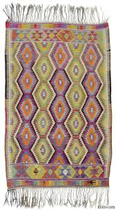 Lilac Rug K0010556 Green Purple Vintage Antalya Kilim Rug Kilim Rugs