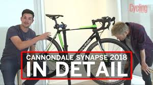 cannondale synapse 2018 in detail cycling weekly youtube