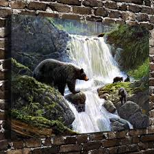 high quality watercolor waterfalls promotion shop for high quality