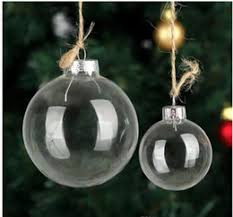 discount clear glass tree ornaments 2017 clear glass