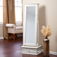 cheval jewelry armoire transitional cheval mirror locking jewelry armoire with base