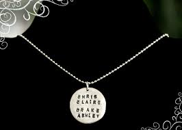 Personalized Pendant Sentimental Silver Helps Shoppers Create Custom One Of A Kind